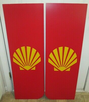 Shell Oil CO. Payphone Enclosure Side Panels