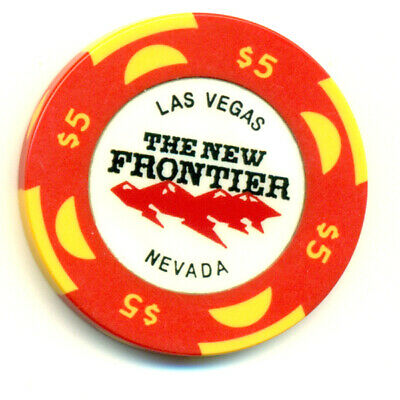The New Frontier Las Vegas $5 Casino Gaming Chip