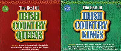 The Best Of Irish Country Queens + Country Kings | NEW & SEALED 2 X CD BUNDLE