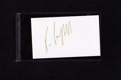 Neve Campbell - Hand Signed Autograph Index Card 3x5 - Scream