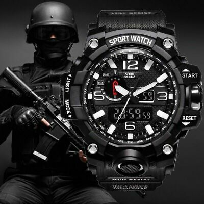G Style Shock Watches Men Military Army Mens Watch Led Digital Sports Wristwatch