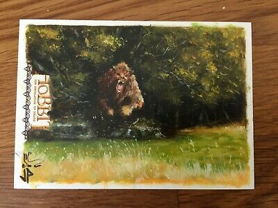 Cryptozoic The Hobbit Sketch Card DoS  1/1 Beorn by Potratz + Hai Hand Painted