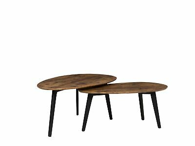 Lot De 2 Tables Basses Marron Fly Ii Eur 11998 Picclick Fr