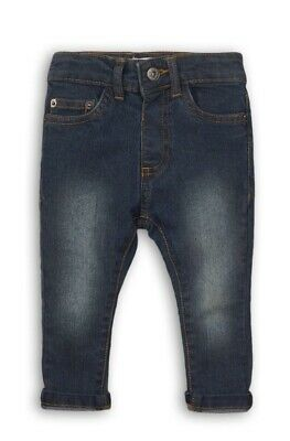 MINOTI BOYS WORN LOOK EFFECT SKINNY FIT DENIM JEANS *SIZES 3/4yrs to 7/8yrs*
