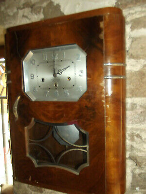 Carillon DAM 8 marteaux 8 tiges  2 sonneries French wall clock  type ODO