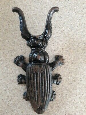 Antique Cast Iron Beetle Boot Jack Shoe Remover Puller