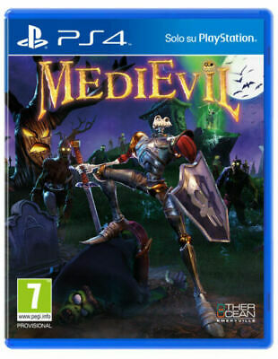 Medievil Ps4 Gioco Italiano Playstation 4 Remake Sony Nuovo In Pre-Ordine 25/10