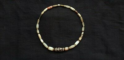 Necklace of Ancient Chung Dzi and Dzi Beads from The Himalayas
