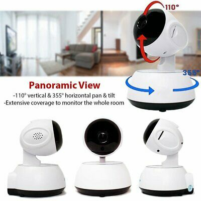 720P HD Wireless IP Security Camera Indoor CCTV Home Smart Wifi Baby Monitor
