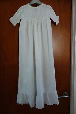 Pretty Vintage/Antique Baby Dress/Christening Gown  - Chest 20""