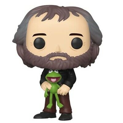 JIM HENSON WITH KERMIT - Funko Pop Icons Muppets Limited Quantities Ships 7/17