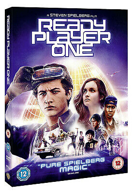 Ready Player One [2018] (DVD) With Limited Edition Foil Slipcase