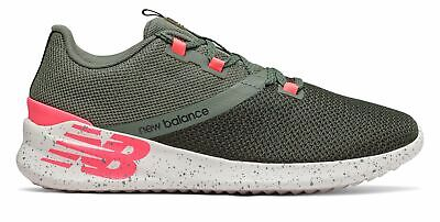 New Balance Women's CUSH+ District Run Shoes Green with Pink