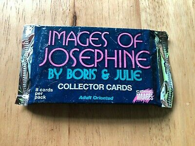 Sealed Pack of Images Of Josephine Adult Trading Cards 1997 (8 Cards Per Pack)