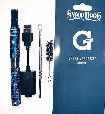 SNOOP DOGG G Pen Herbal Vaporizer - BRAND NEW - NEVER USED