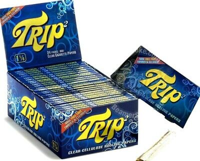 Trip 2 Rolling Papers 1 1/4 Trip2 4 For $1.87/PK 50/Lvs Great Prices USA Shipped
