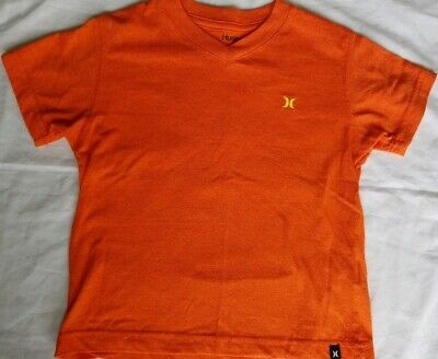 HURLEY Shirt Toddler Boy sz 3 Orange