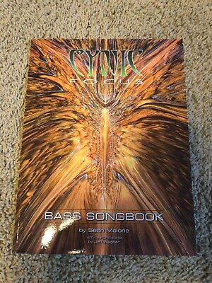 Cynic Focus Bass Songbook Signed Numbered OOP Sean Malone Dream Theater Death