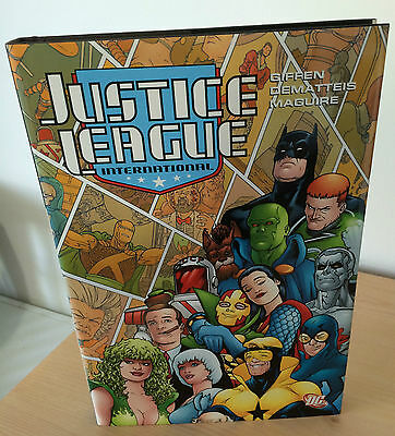 Justice League International  Vol III - hardcover collection -Giffen & DeMatteis
