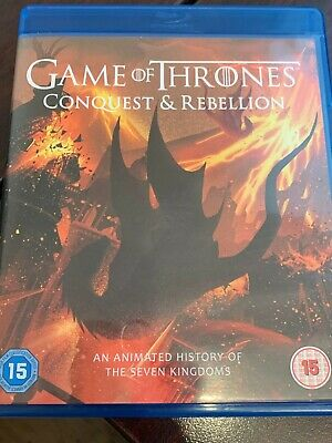 Game of Thrones Conquest & Rebellion (Blu-ray) Season 7 ANIMATED bonus disc