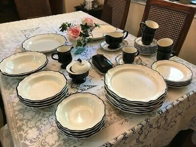 Mikasa Dinner Ware--Italian Terrace. Excellent condition--with serving pieces