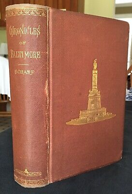 1874 Chronicles Of BALTIMORE 1st Edition