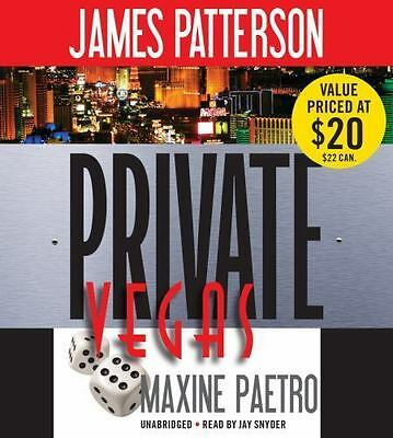 New Audio Book Private Vegas James Patterson & Maxine Paetro Unabridged CDs