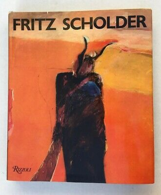 FRITZ SCHOLDER First Edition 1982 Book RIZZOLI New York Hard Cover Excellent