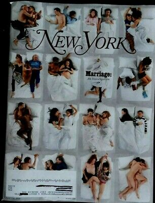 "New York Magazine APRIL 1-14, 2019 ""Marriage: An Investigation"" NEW w/ Label"