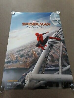 Spiderman Far From Home Filmposter Original D/S One 1 Bogen London