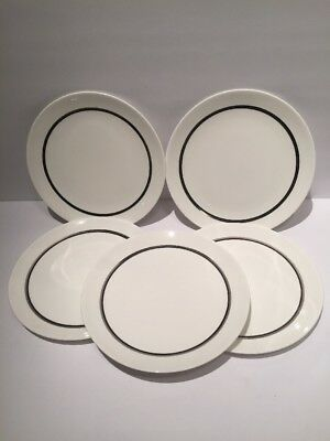 Wedgewood Susie Cooper Design Luncheon Plate Set Of 5