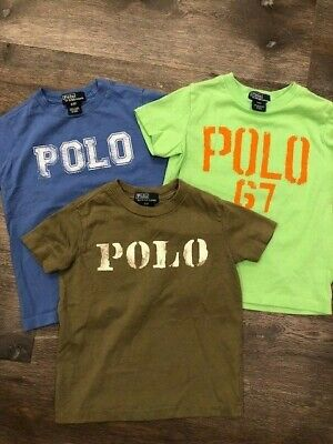 Toddler BOYS Ralph Lauren T Shirts Size 3T EUC