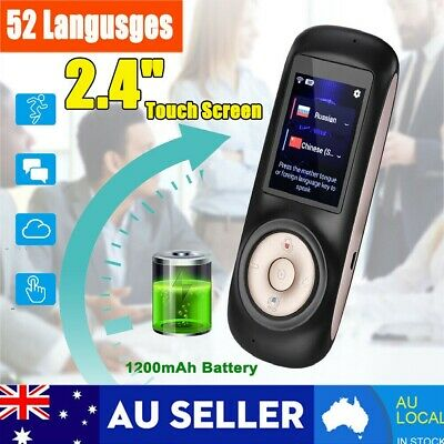 New 52 Languages Smart Instant Voice Translator Speech Interactive Translation