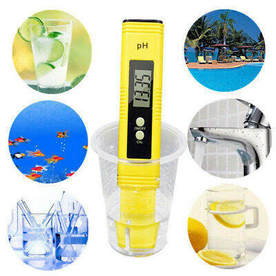 NEW Digital Electric PH Meter Tester Hydroponics Water Test Pen FRA High Quality