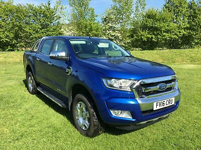 2016 Ford Ranger 3.2 TDCi Double cab Limited Pick up 4x4 200ps