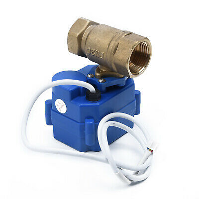 """Ball Valve Motorized Brass G3/4"""" Electrical DN20 DC12V Replacement Kit Parts"""