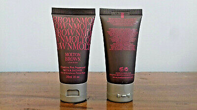 Molton Brown gel bain et douche au poivre rose lot de 10 x 30 ml