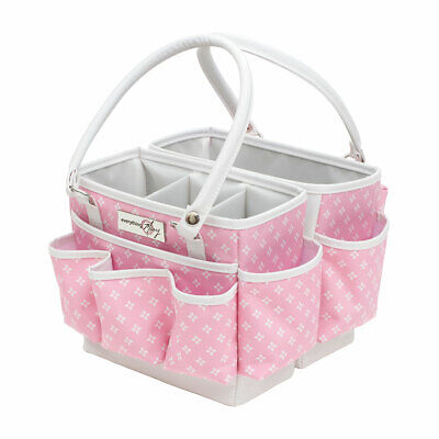 Fold-Open Square Organizer Pink Star 28 x 24 x 19cm  Everything Mary EVM12011-4