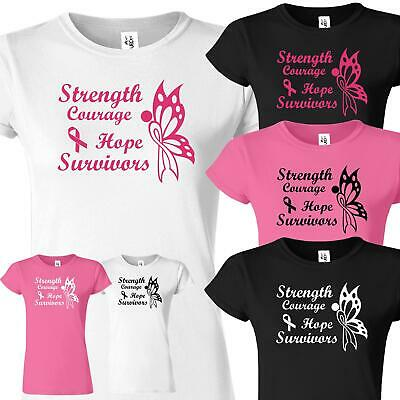 Cancer Fighters Survivors Angels Tshirt Running Race For Life TShirt Charity Top