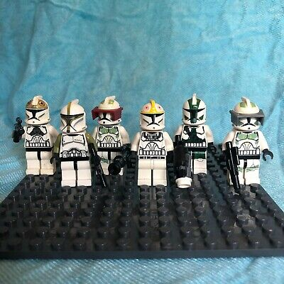 Lego Star Wars Mini Figures Phase 1 Clone Specialists Set Of 6