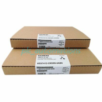 New in box Siemens 6ES7 412-2XG00-0AB0 6ES7412-2XG00-0AB0 1 year warranty