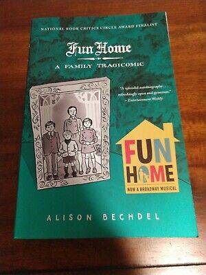 Fun Home: A Family Tragicomic by Bechdel, Alison PB. Pre owned. Great clean copy