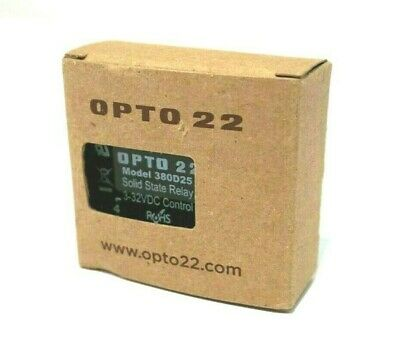 New Opto 22 380D25 Solid State Relay