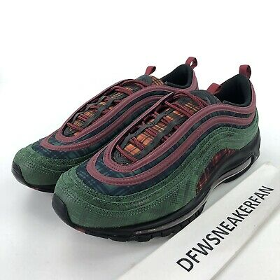 Details about 2018 Nike Air Max 97 NRG size 15 Jacket Pack Team Red Midnight Spruce AT6145 600