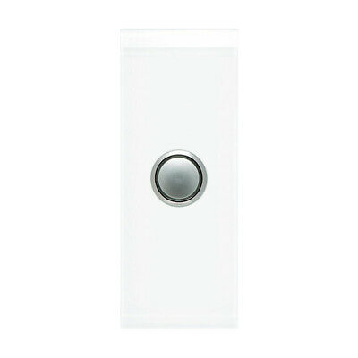 Clipsal Saturn 1 Gang Architrave Switch with LED Pure White   4061AL-PW