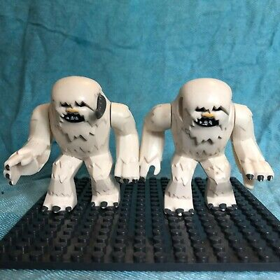 Lego Star Wars Mini Figures 2 Hoth Wampas With Missing Horns