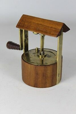 Designstück Denmark Teak Brass Pepper Mill the 60's Fountain Rare (16)