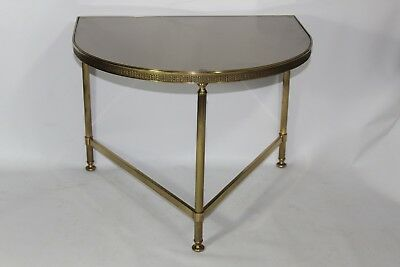 Wall Console Wall Table Table Beistel Brass Console Table Mirror (Bue)