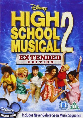 High School Musical 2 - Extended Edition [DVD] New/Sealed