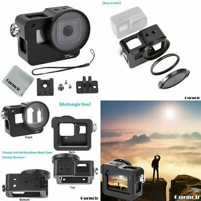 Gurmoir Case Aluminum Alloy Frame Housing For Gopro Hero 7 Black/Hero 2018 Actio